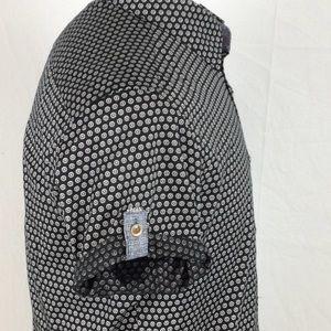 Ted Baker Shirts - Ted Baker Print Short Sleeve Button Down Shirt